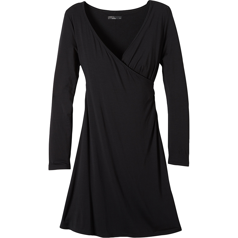 PrAna Nadia Dress S - Black - PrAna Womens Apparel - Apparel & Footwear, Women's Apparel