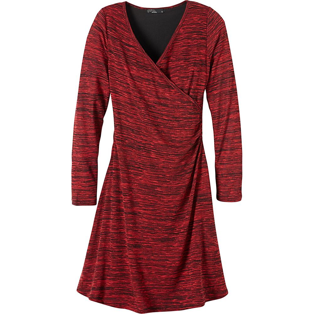 PrAna Nadia Dress XL - Sunwashed Red - PrAna Womens Apparel - Apparel & Footwear, Women's Apparel