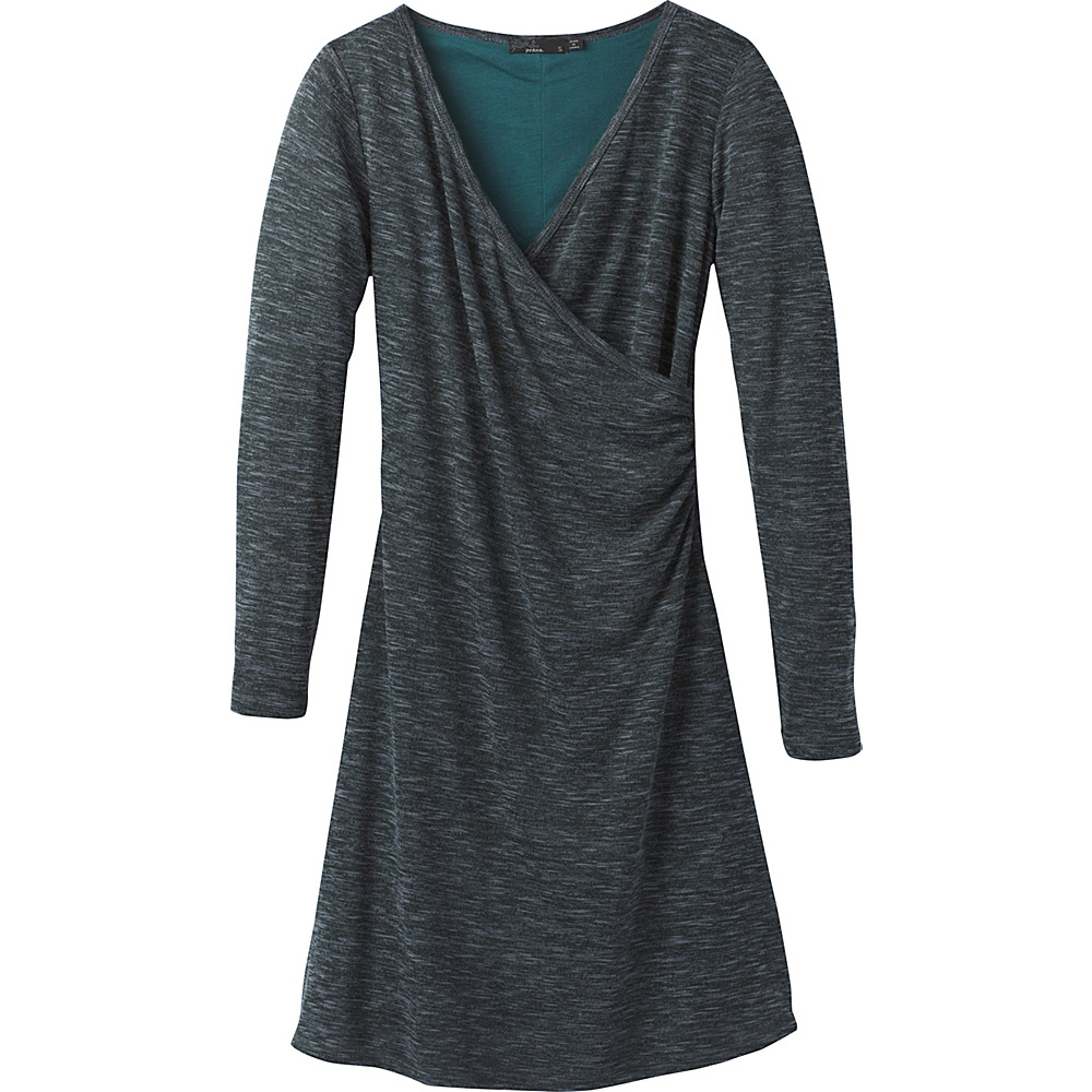 PrAna Nadia Dress S - Deep Balsam - PrAna Womens Apparel - Apparel & Footwear, Women's Apparel