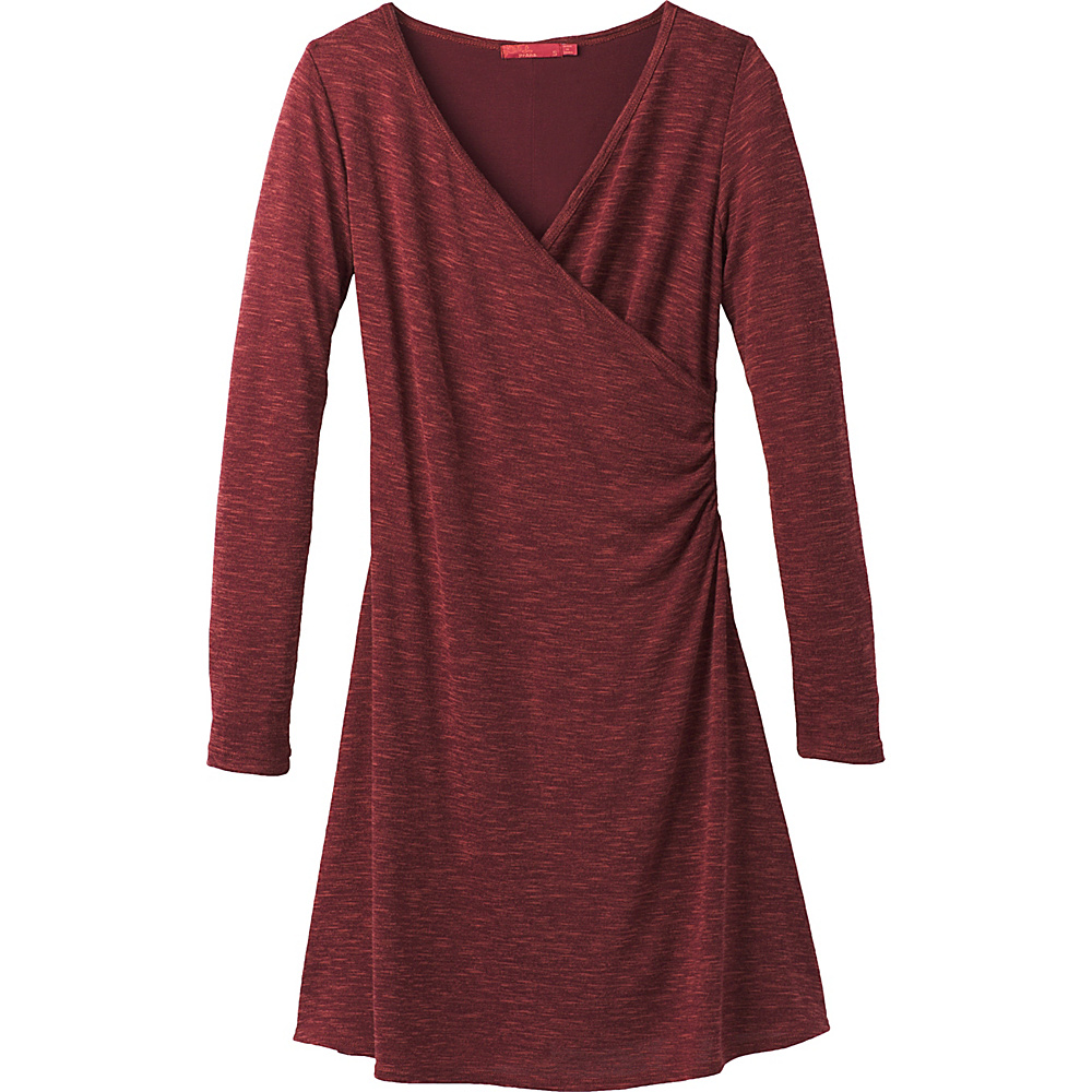 PrAna Nadia Dress M - Nocturnal Red - PrAna Womens Apparel - Apparel & Footwear, Women's Apparel