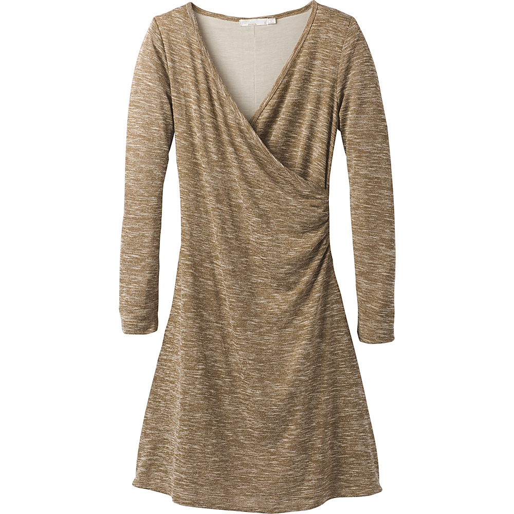 PrAna Nadia Dress M - Stone - PrAna Womens Apparel - Apparel & Footwear, Women's Apparel