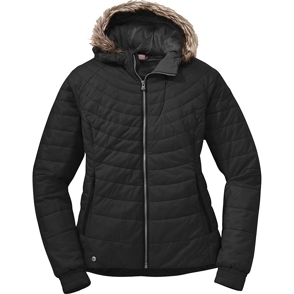 Outdoor Research Womens Breva Jacket XL - Black - Outdoor Research Womens Apparel - Apparel & Footwear, Women's Apparel