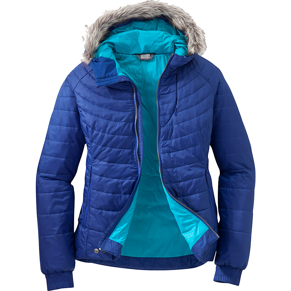 Outdoor Research Womens Breva Jacket S - Baltic/Typhoon - Outdoor Research Womens Apparel - Apparel & Footwear, Women's Apparel