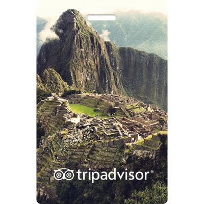 TripAdvisor TripAdvisor Interactive Luggage Tag Machu Picchu - TripAdvisor Luggage Accessories