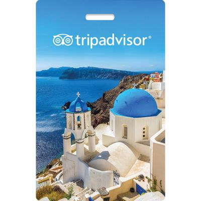 TripAdvisor Interactive Luggage Tag Greece - TripAdvisor Luggage Accessories