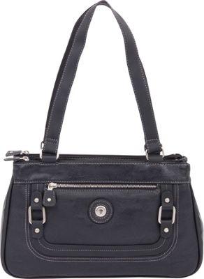 Mouflon Original RFID Generation Satchel Black/Black - Mouflon Original Manmade Handbags