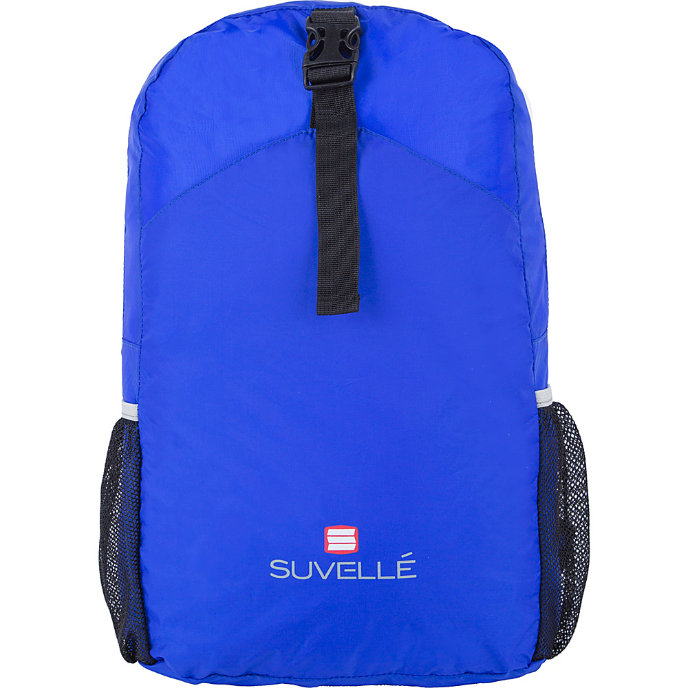 Suvelle Lightweight Travel Foldable Backpack Blue - Suvelle Packable Bags
