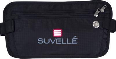 Suvelle RFID Hidden Travel Waist Pack Wallet Black - Suvelle Travel Wallets