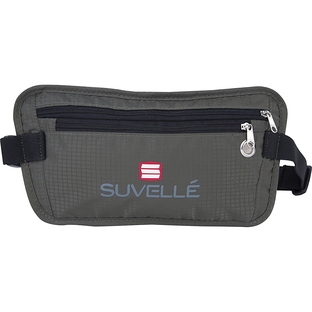 Suvelle RFID Hidden Travel Waist Pack Wallet Khaki Suvelle Travel Wallets