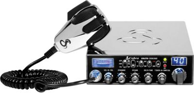 Cobra 29-LTD CHR Chrome Special Edition Classic Professional CB Radio Silver - Cobra Car Travel