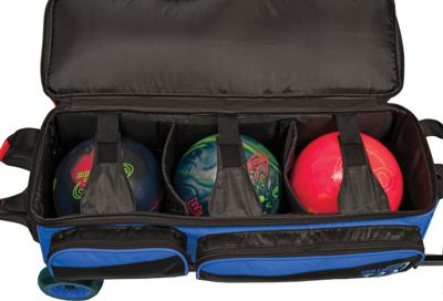 Columbia 300 Bags Icon Triple Roller Black - Columbia 300 Bags Bowling Bags