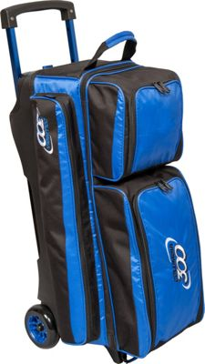Columbia 300 Bags Icon Triple Roller Royal - Columbia 300 Bags Bowling Bags