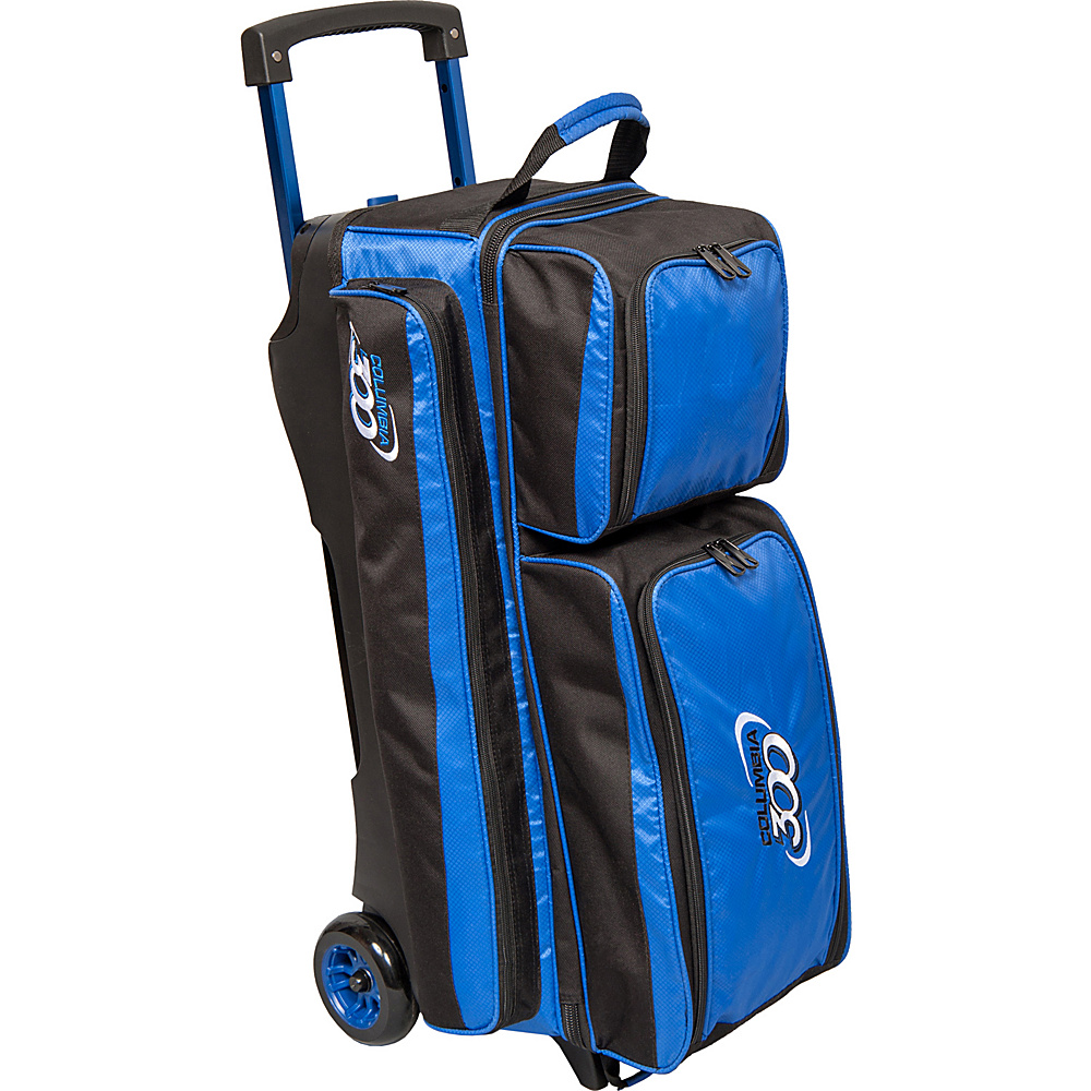Columbia 300 Bags Icon Triple Roller Royal Columbia 300 Bags Bowling Bags