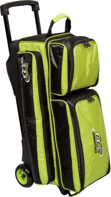 Columbia 300 Bags Icon Triple Roller Lime - Columbia 300 Bags Bowling Bags