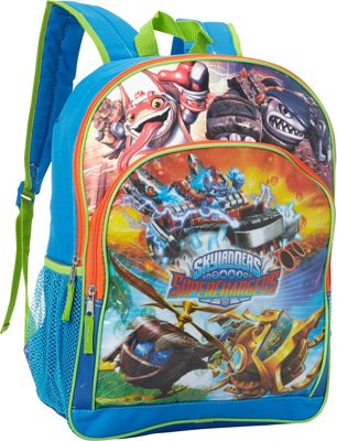 Skylanders Super Chargers Backpack with Card Slots MULTI-COLORED - Skylanders School & Day Hiking Backpacks