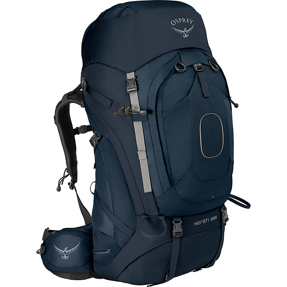 Osprey Xenith 88 Backpack Discovery Blue – MD - Osprey Backpacking Packs - Outdoor, Backpacking Packs
