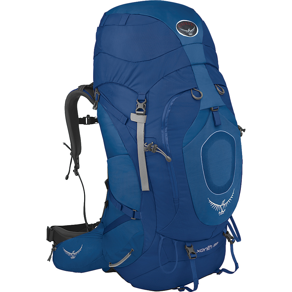 Osprey Xenith 88 Backpack Mediterranean Blue - MD - Osprey Backpacking Packs - Outdoor, Backpacking Packs