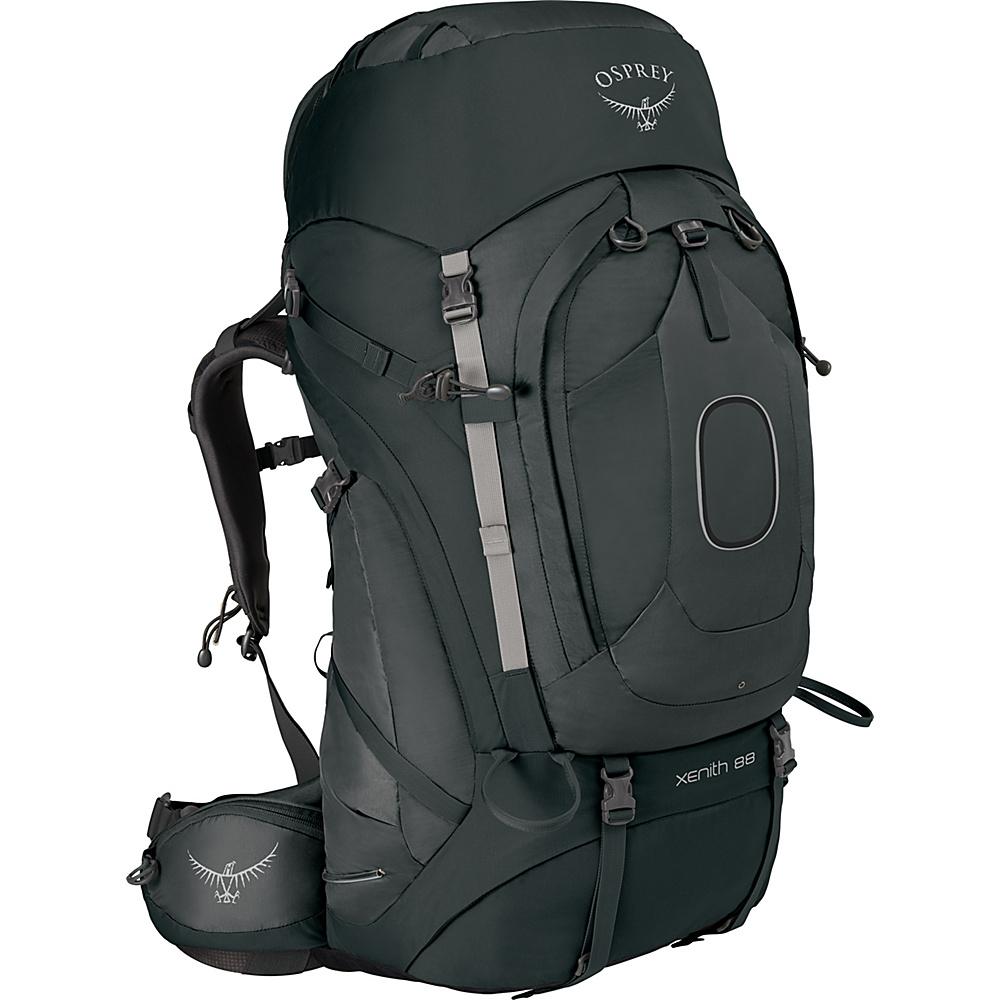 Osprey Xenith 88 Backpack Tektite Grey – XL - Osprey Backpacking Packs - Outdoor, Backpacking Packs
