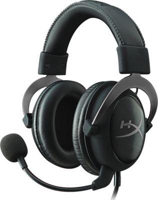 Kingston HyperX Cloud II Headset with USB Audio Control Box Gun Metal - Kingston Headphones & Speakers