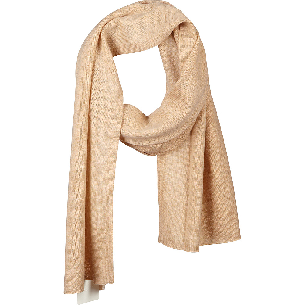 Kinross Cashmere Oversize Scarf Palomino - Kinross Cashmere Hats/Gloves/Scarves - Fashion Accessories, Hats/Gloves/Scarves