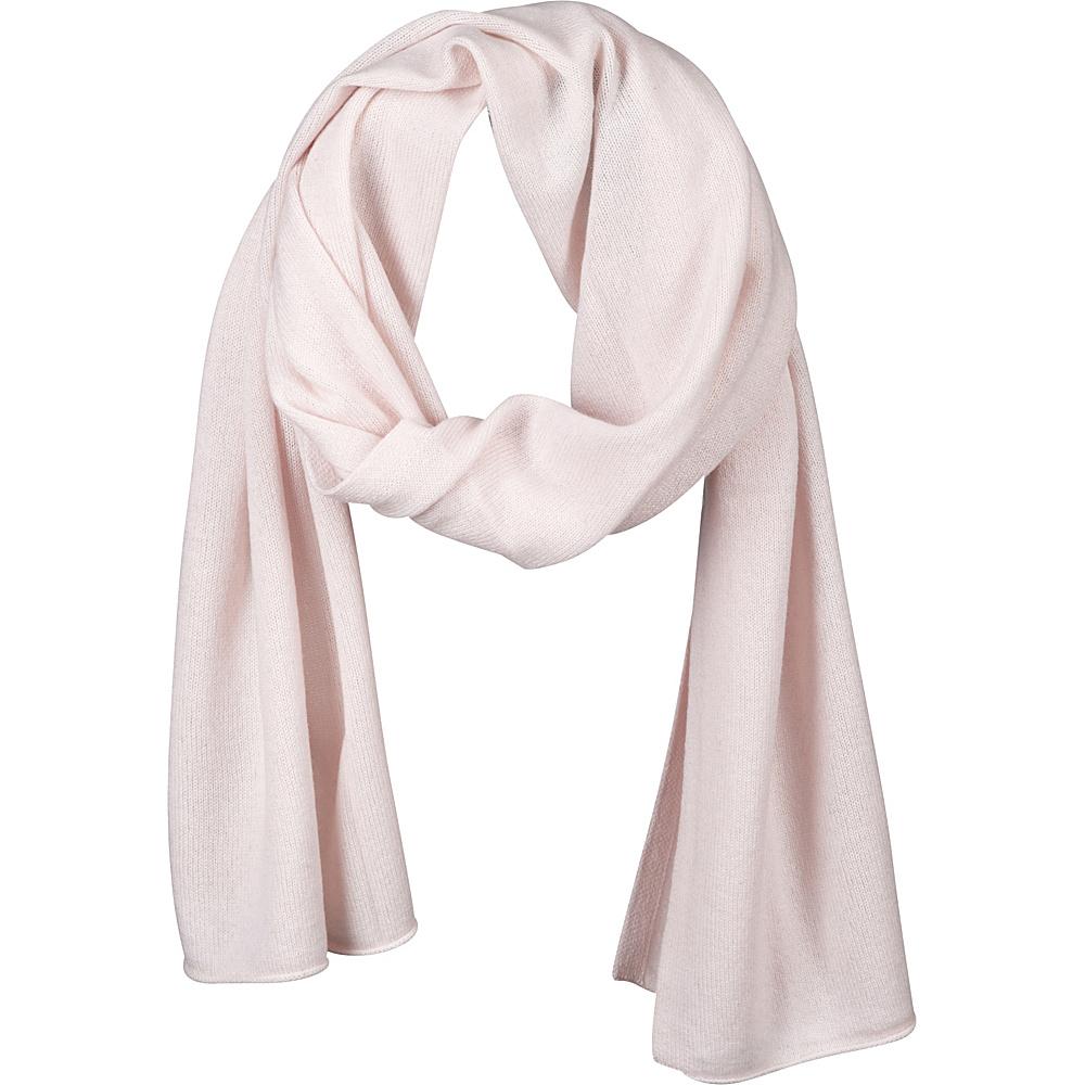 Kinross Cashmere Oversize Scarf Pink Frost Kinross Cashmere Hats Gloves Scarves