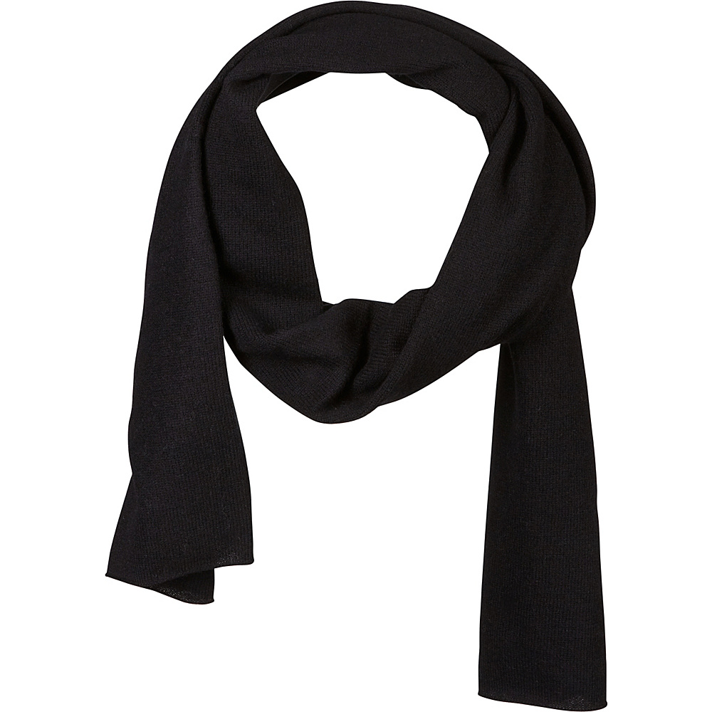 Kinross Cashmere Oversize Scarf Black Kinross Cashmere Hats Gloves Scarves
