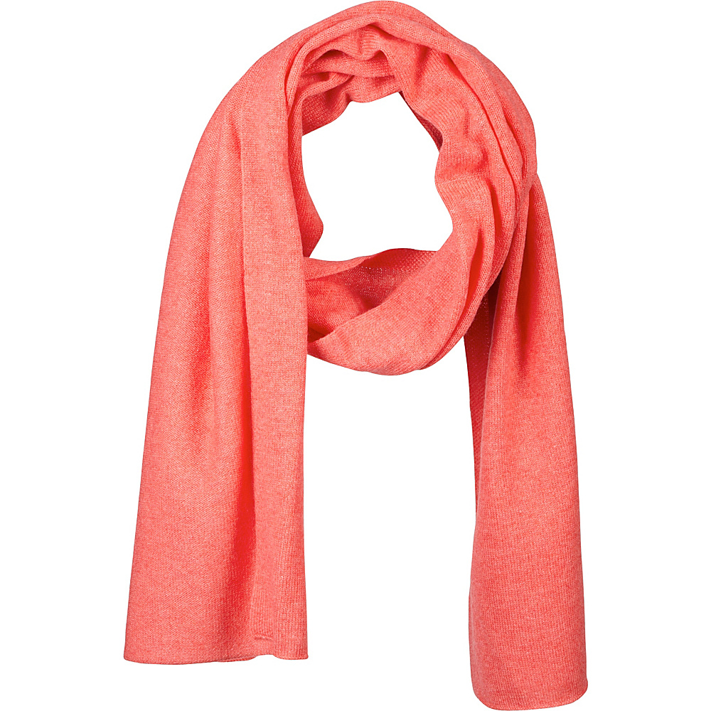Kinross Cashmere Oversize Scarf Coral Rose - Kinross Cashmere Hats/Gloves/Scarves - Fashion Accessories, Hats/Gloves/Scarves