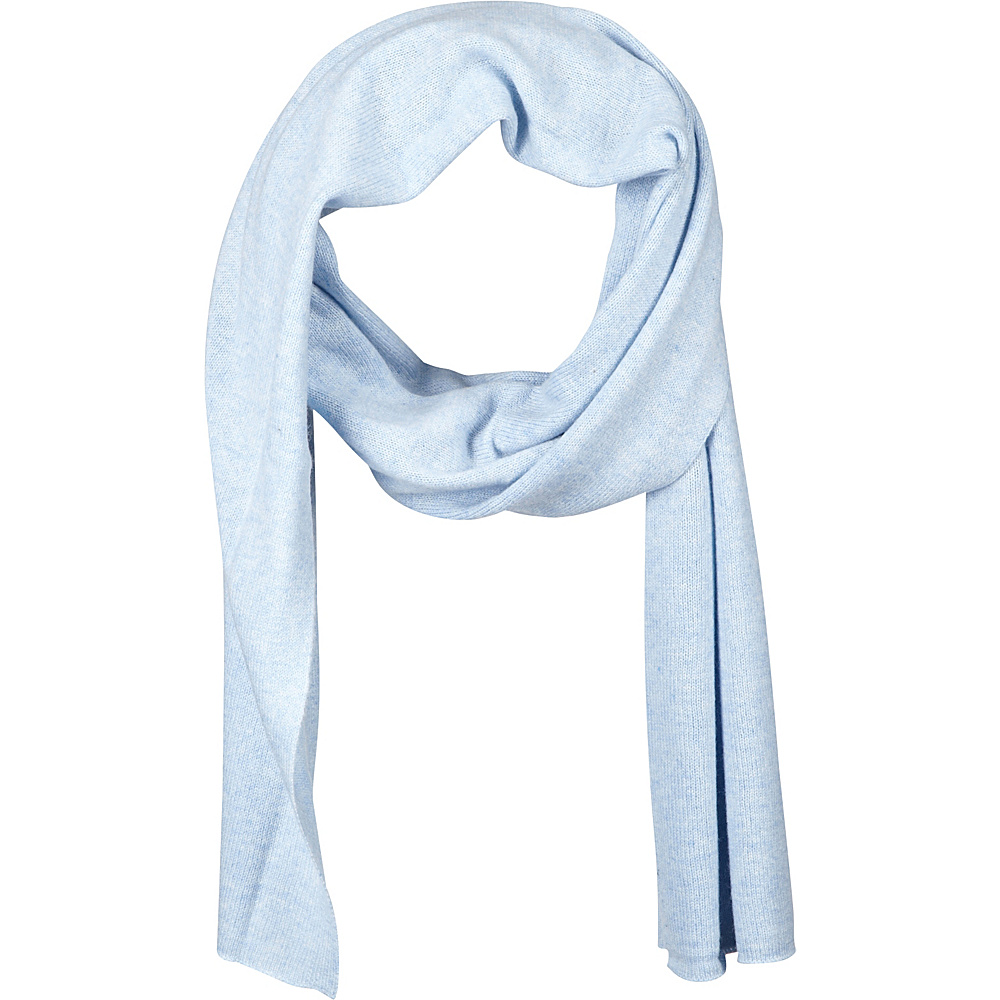 Kinross Cashmere Oversize Scarf Ice Blue Kinross Cashmere Hats Gloves Scarves