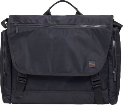 KNOMO London Pimlico Hugh Messenger Black - KNOMO London Messenger Bags