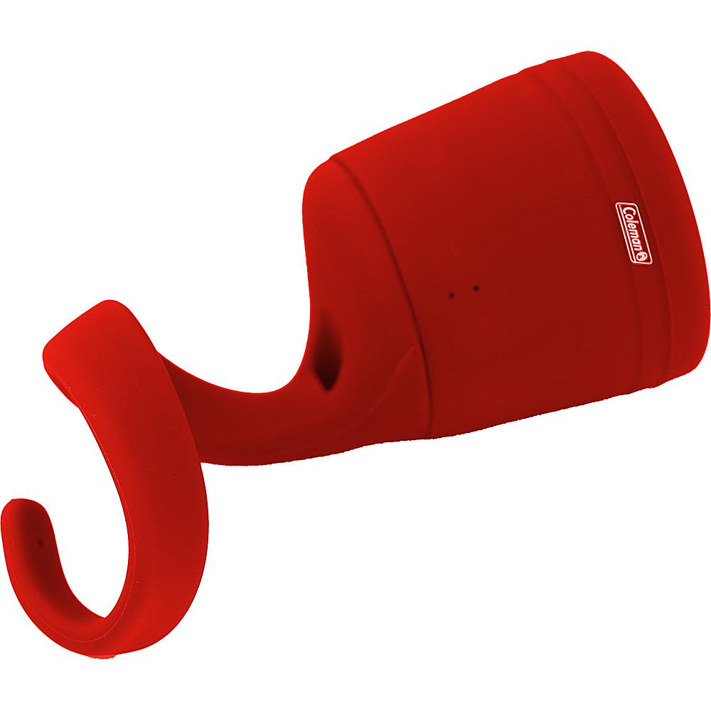 Coleman True Wireless Stereo Link Waterproof Bluetooth Speaker Single Unit Red Coleman Cameras