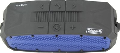 Coleman SoundTrail Rugged Waterproof Bluetooth Speaker Blue - Coleman Headphones & Speakers