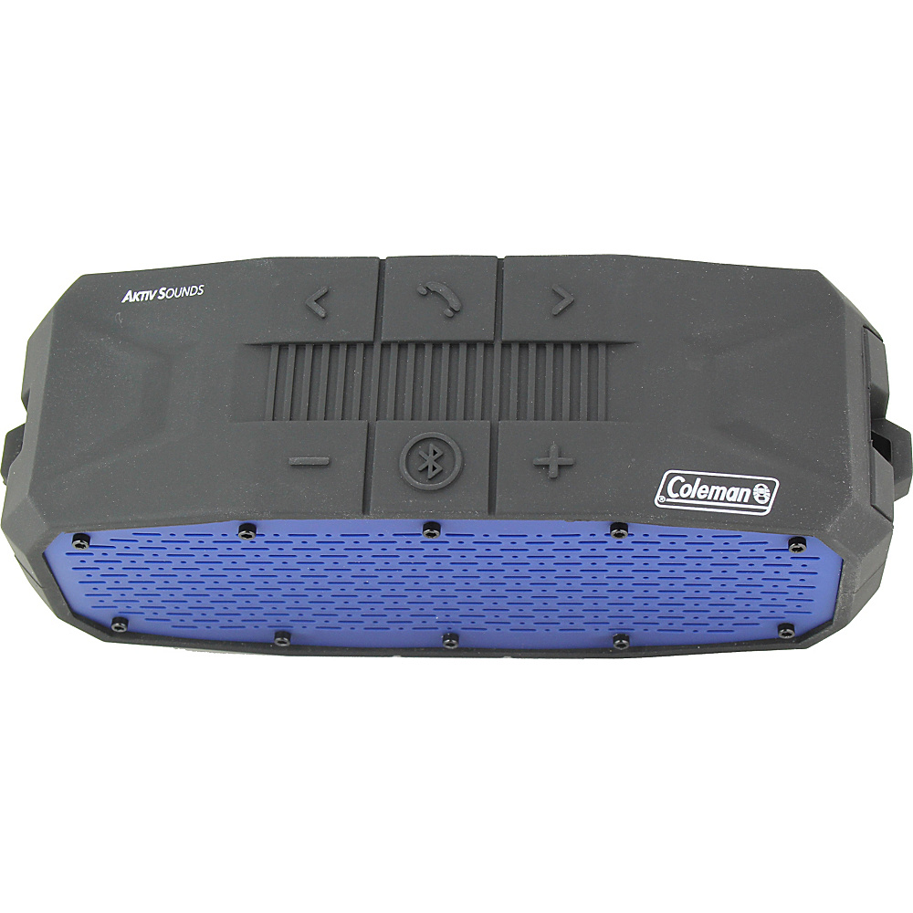 Coleman SoundTrail Rugged Waterproof Bluetooth Speaker Blue Coleman Headphones Speakers