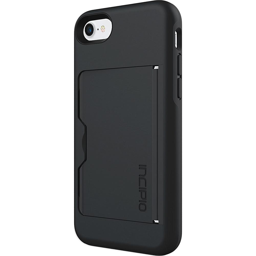 Incipio Stowaway for iPhone 7 Black/Black(BLK) - Incipio Electronic Cases - Technology, Electronic Cases