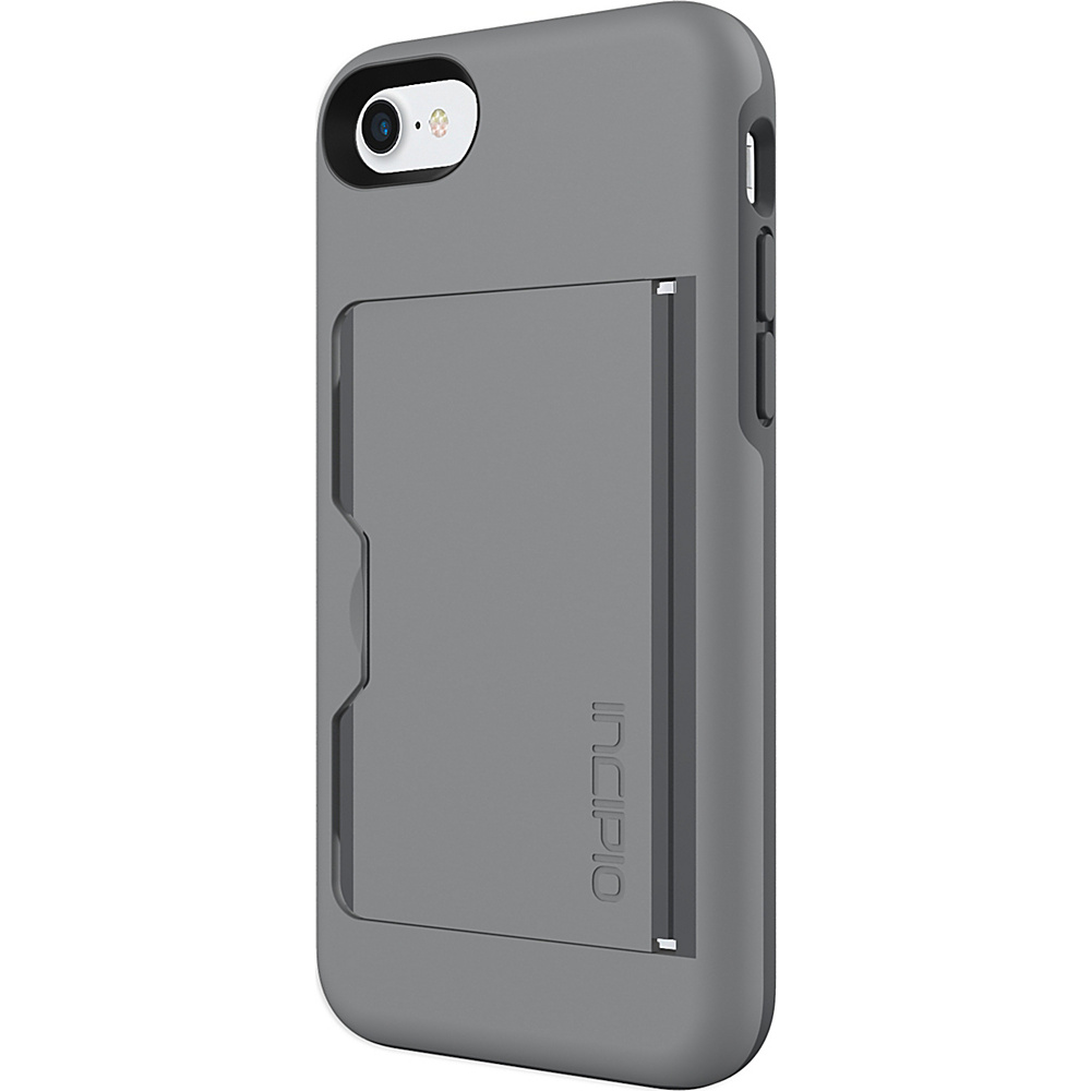 Incipio Stowaway for iPhone 7 Gray/Charcoal(GYC) - Incipio Electronic Cases - Technology, Electronic Cases