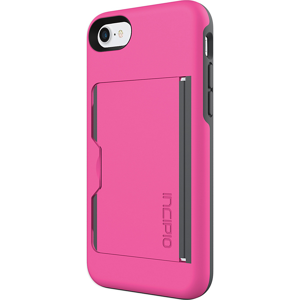Incipio Stowaway for iPhone 7 Pink/Charcoal(PKC) - Incipio Electronic Cases - Technology, Electronic Cases