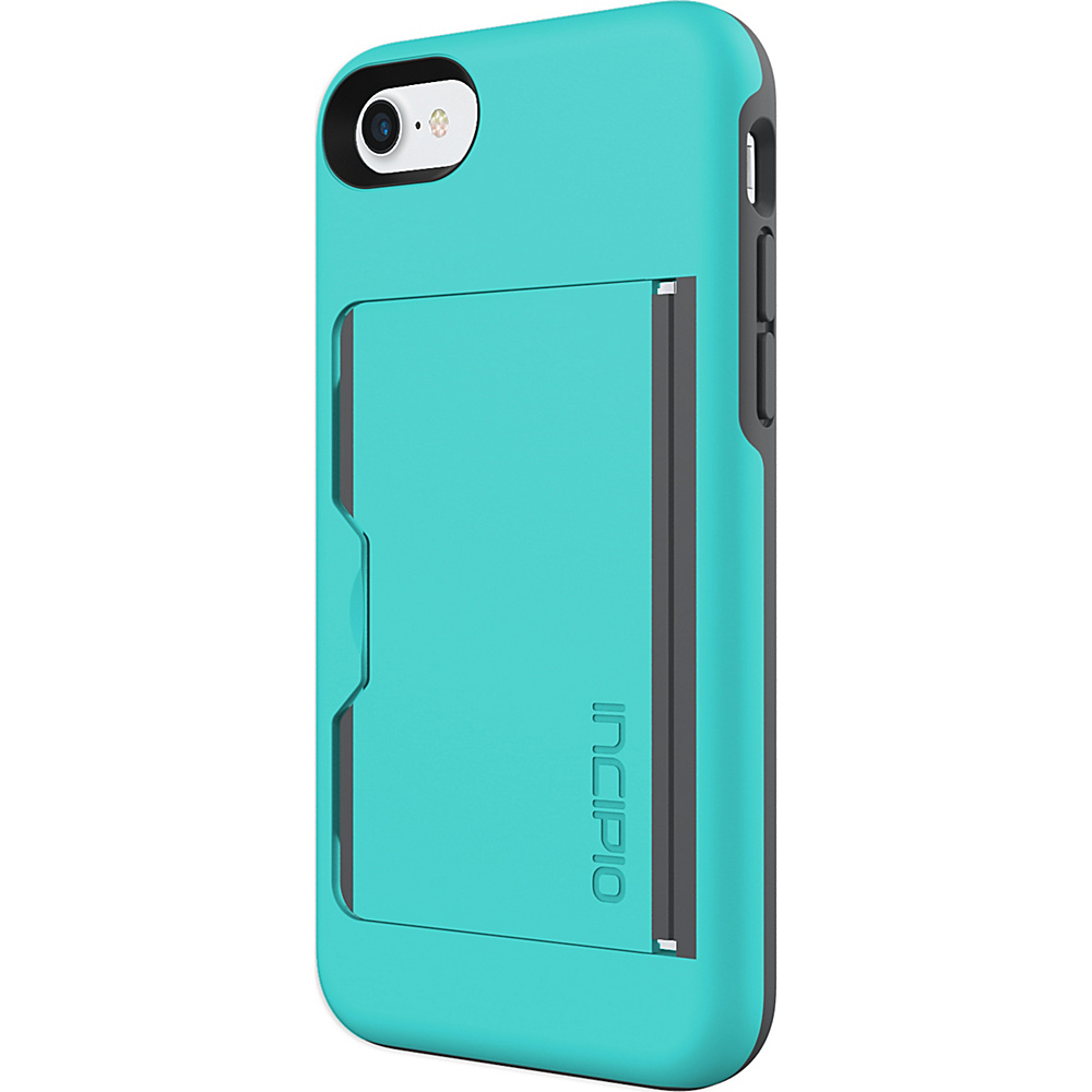 Incipio Stowaway for iPhone 7 Turquoise/Charcoal(TQC) - Incipio Electronic Cases - Technology, Electronic Cases