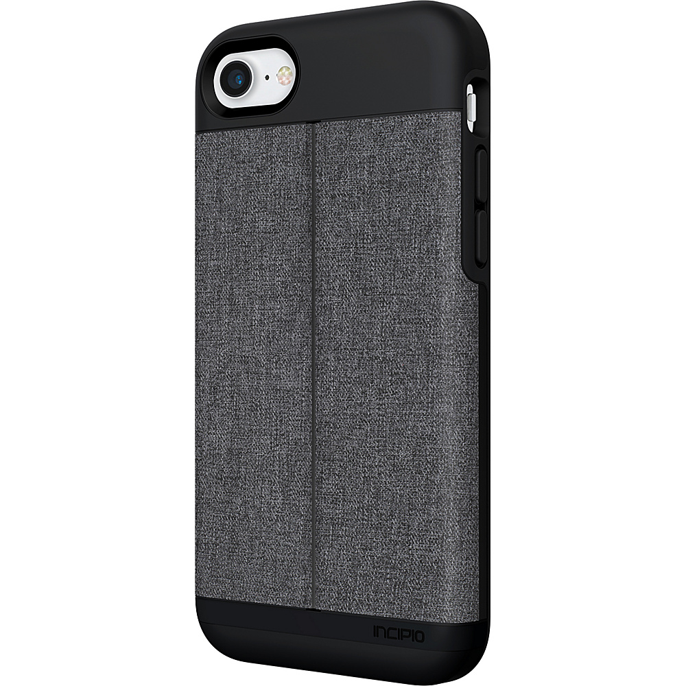 Incipio Esquire Series Wallet Case for iPhone 7 Heather Dark Gray(WDG) - Incipio Electronic Cases - Technology, Electronic Cases