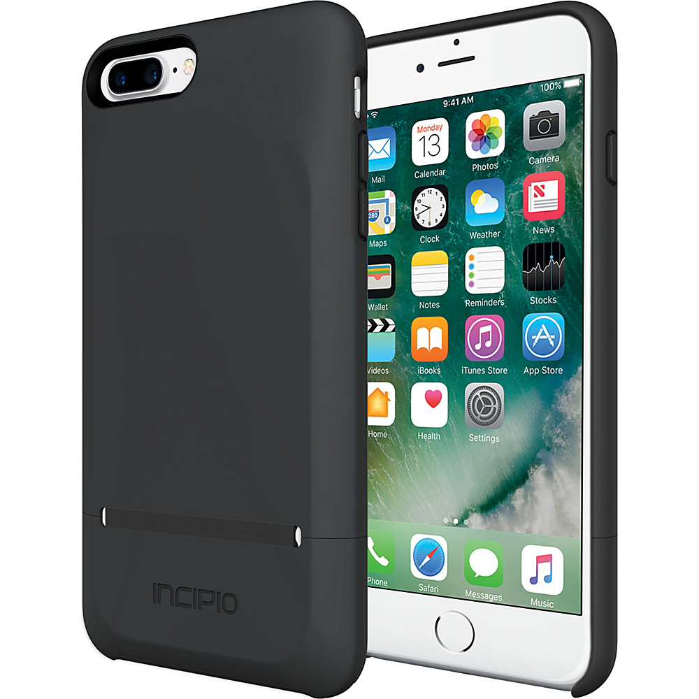Incipio Stashback for iPhone 7 Plus Black - Incipio Electronic Cases - Technology, Electronic Cases