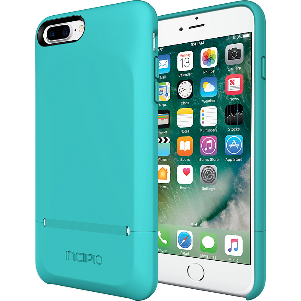 Incipio Stashback for iPhone 7 Plus Turquoise - Incipio Electronic Cases - Technology, Electronic Cases