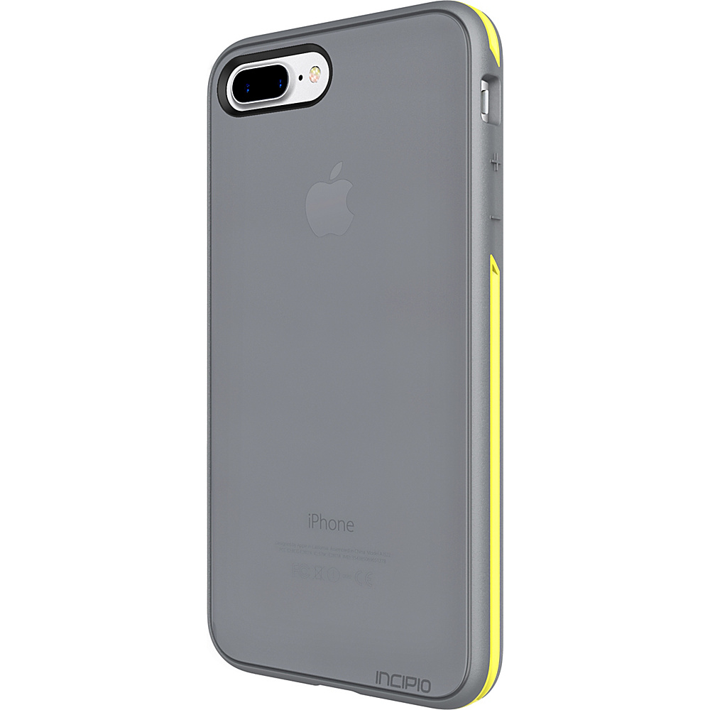 Incipio Performance Series Slim for iPhone 7 Plus Charcoal Gray/Yellow(CGY) - Incipio Electronic Cases - Technology, Electronic Cases