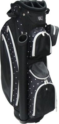 RJ Golf Ladies Cart Bag with Covers Polk A Dot - RJ Golf Golf Bags
