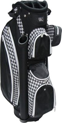 RJ Golf Ladies Cart Bag with Covers Houndstooth - RJ Golf Golf Bags