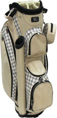 RJ Golf Ladies Cart Bag with Covers SAND PLAID - RJ Golf Golf Bags