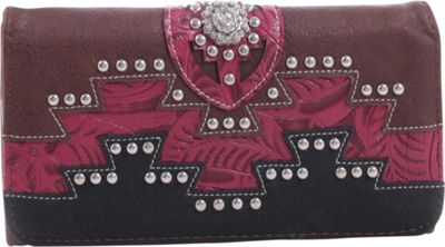 Epic Chic Kelly Western Style Wallet Brown - Epic Chic Women's Wallets