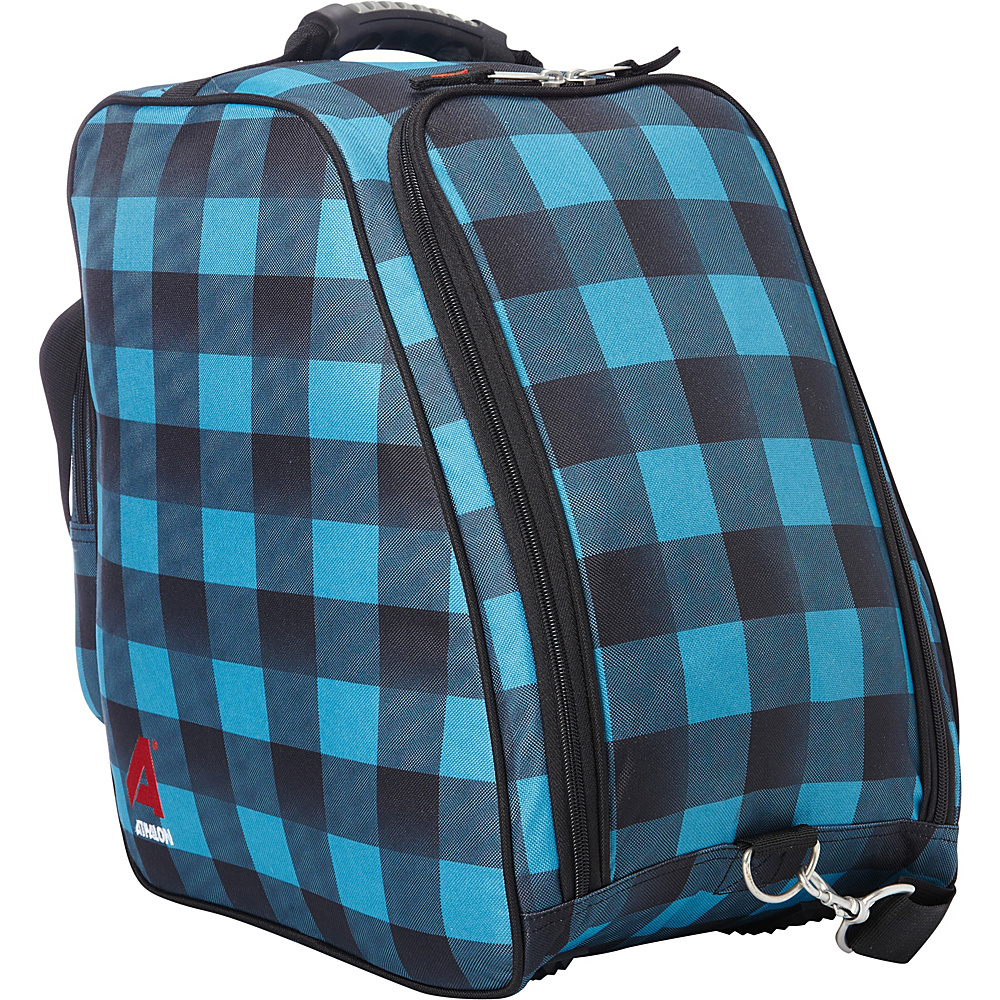 Athalon Light 'n Go Boot Bag Teal - Athalon Ski and Snowboard Bags
