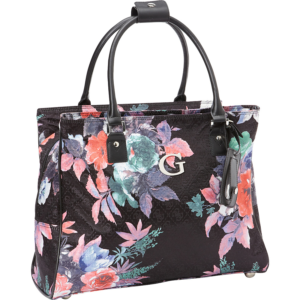 GUESS Travel Fortuna Deluxe Shopper Tote Black - GUESS Travel Luggage Totes and Satchels
