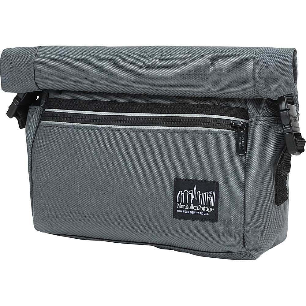 Manhattan Portage Pursuit Handlebar Bag Gray - Manhattan Portage Other Sports Bags - Sports, Other Sports Bags