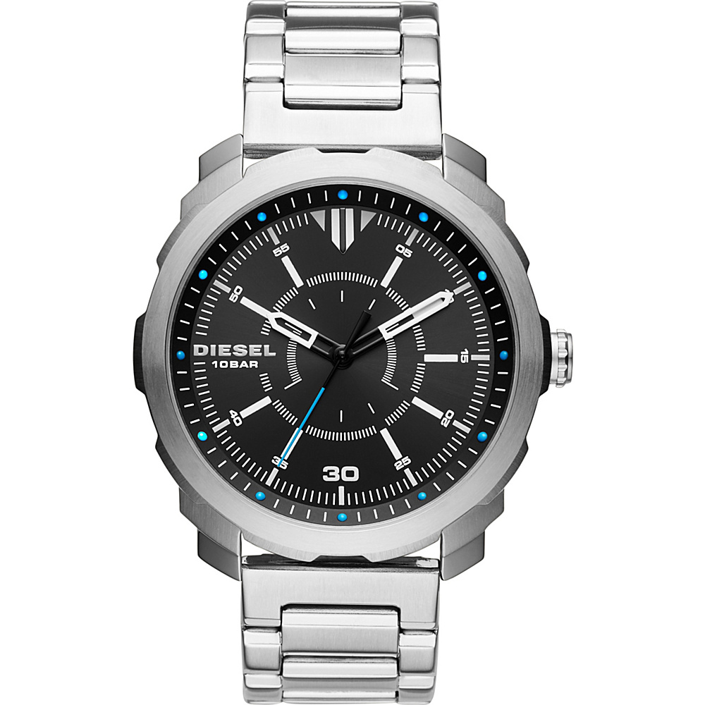 Diesel Watches Machinus NSBB Watch Silver Diesel Watches Watches