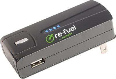 Re-Fuel Portable 1A USB Wall Charger and 2600mAh Power Bank Black - Re-Fuel Portable Batteries & Chargers