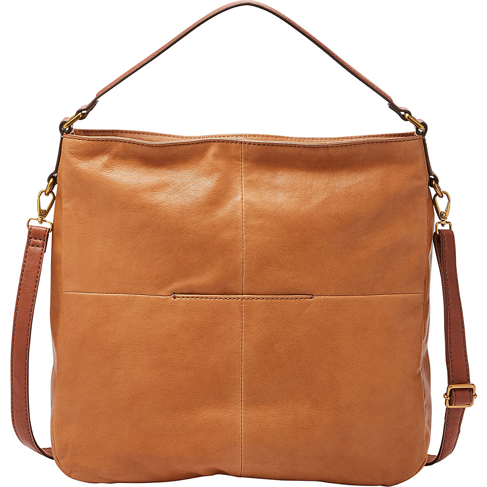 Fossil Corey Hobo Camel - Fossil Leather Handbags - Handbags, Leather Handbags